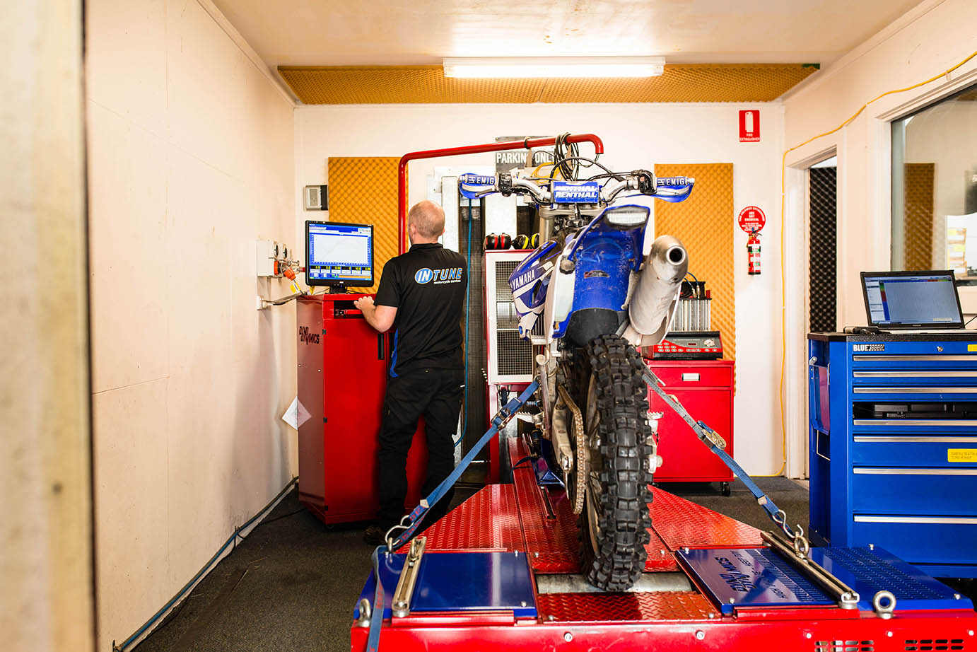 dyno tuning motorcycle servicing