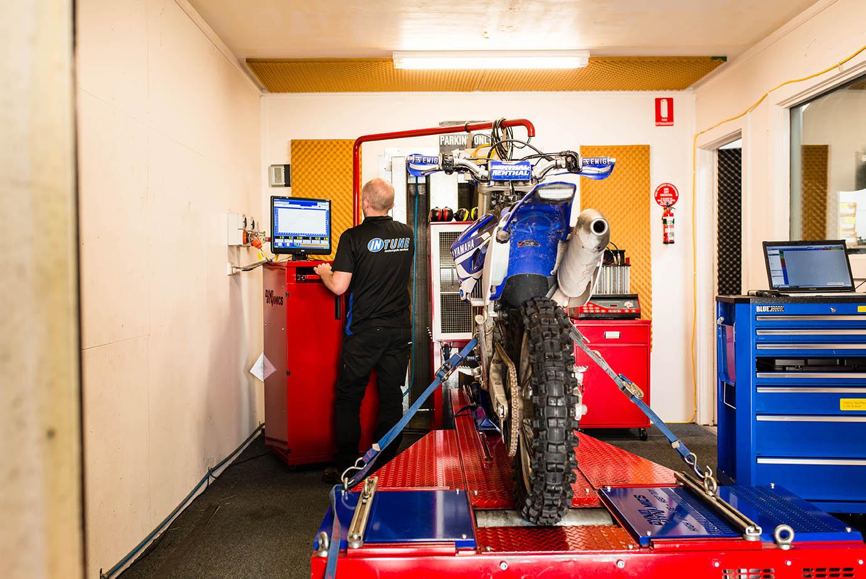 dyno tuning motorcycle servicing